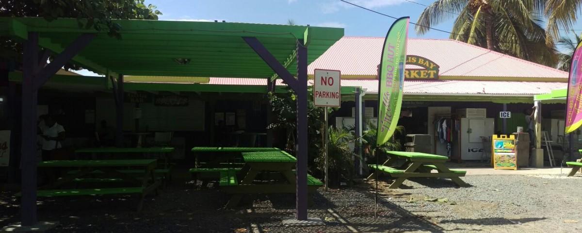 entrance at trellis bar tortola bvi