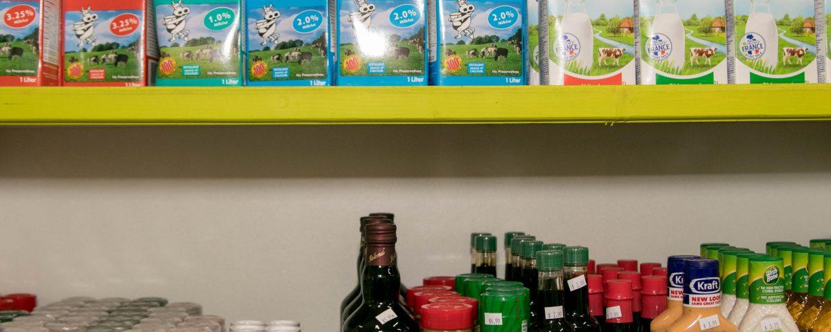 milk products trellis bay market