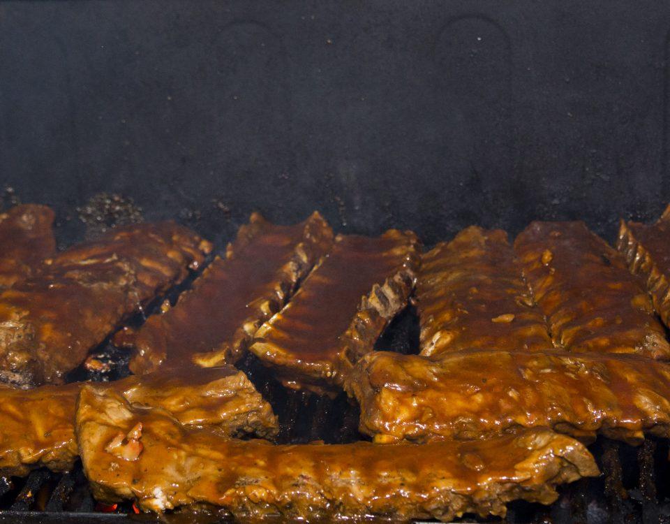 ribs at trellis bay market