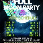 Trellis Bay Full Moon 2020 Schedule Tortola British virgin islands